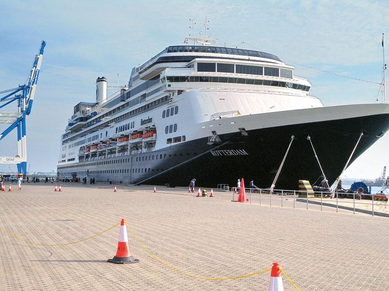 Hambantota Port Welcome largest cruise ship