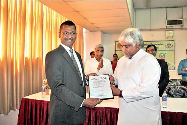 Merchant Shipping Secretariat awarded ISO 9001:2008