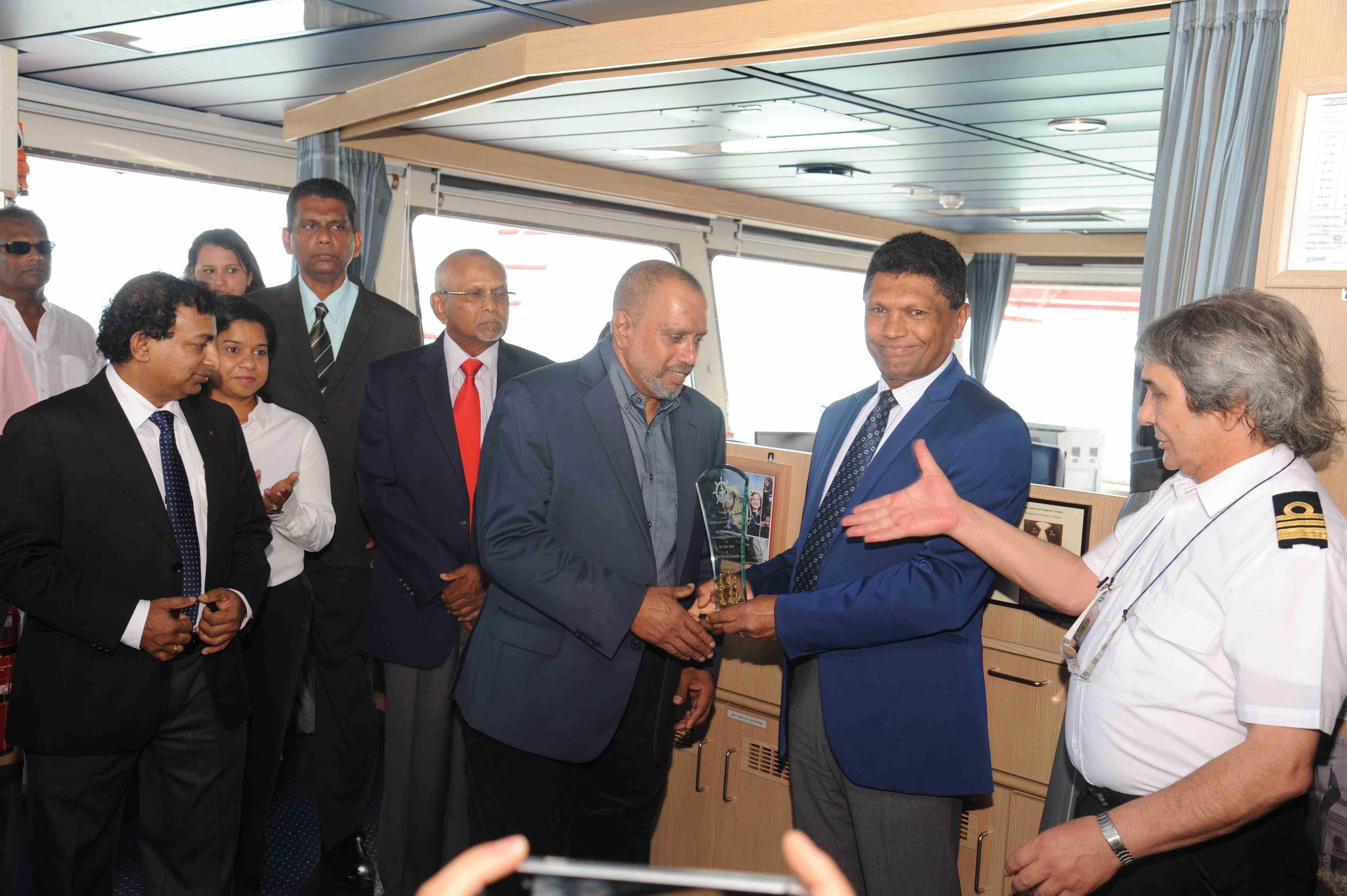 MSC Maya calls the Port of Colombo
