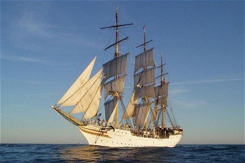 Norwegian tall ship Sørlandet visits Sri Lanka's Port of Colombo