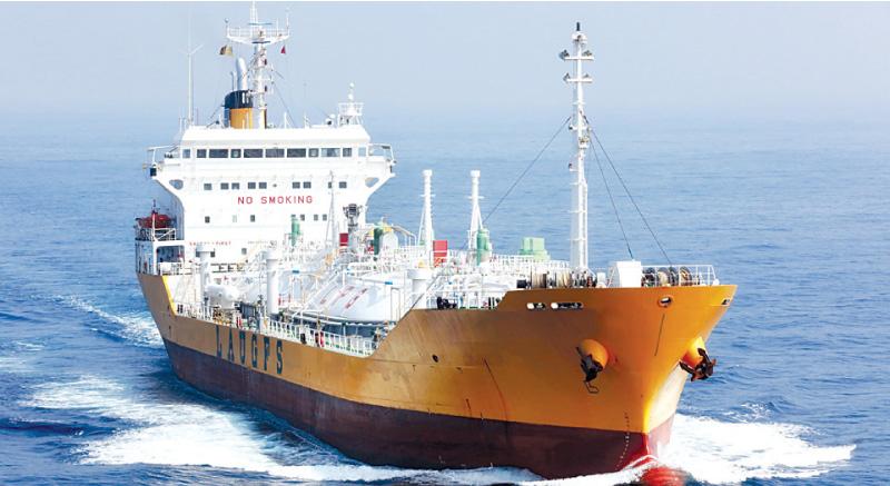 LAUGFS Maritime first to register ship at Hambantota Port