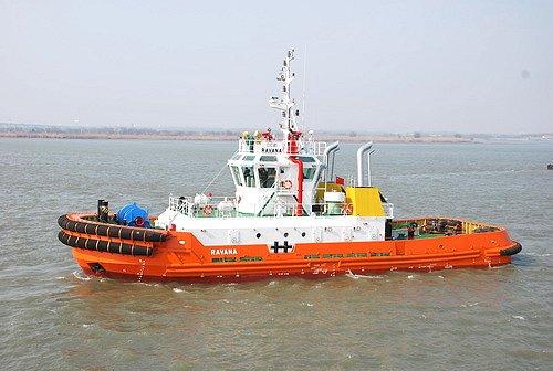China's Zhenjiang Shipyard delivers two tugboats to Sri Lanka