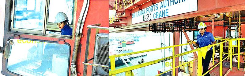 Sri Lanka Port employs women gantry operators in regional first