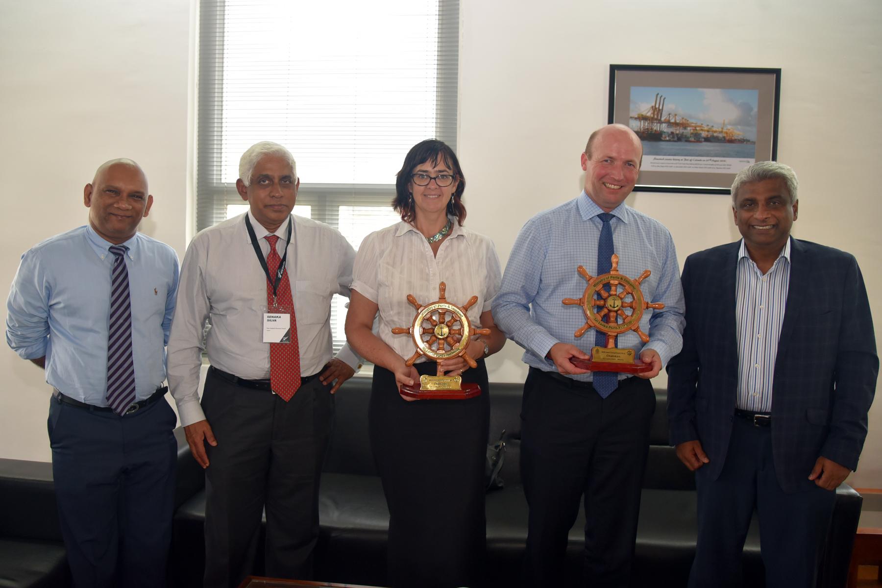 High profile New Zealand delegation visits SLPA